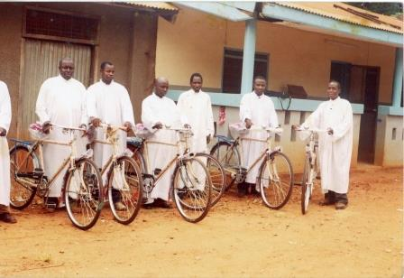 22 Bicycles for a Parish in Tanzania
