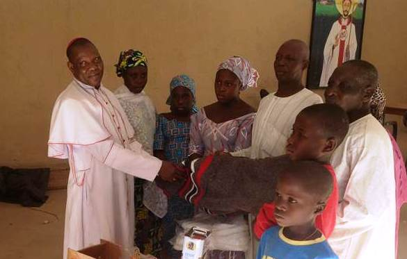 Bishop Dashe Doeme of Maiduguri, Nigeria