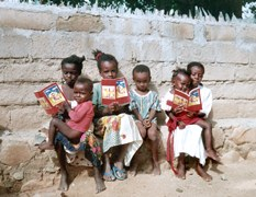 Children with Child_s Bibles in Eritrea