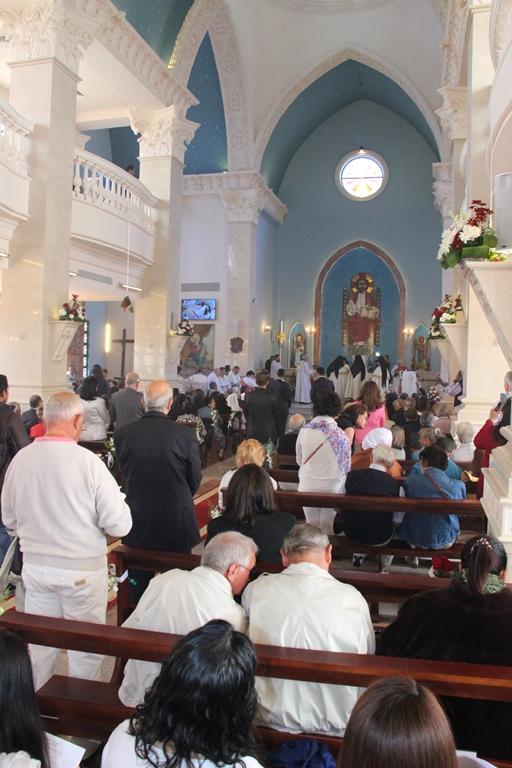 Consecration of Our Lady of Peace, Sharm El-Sheikh